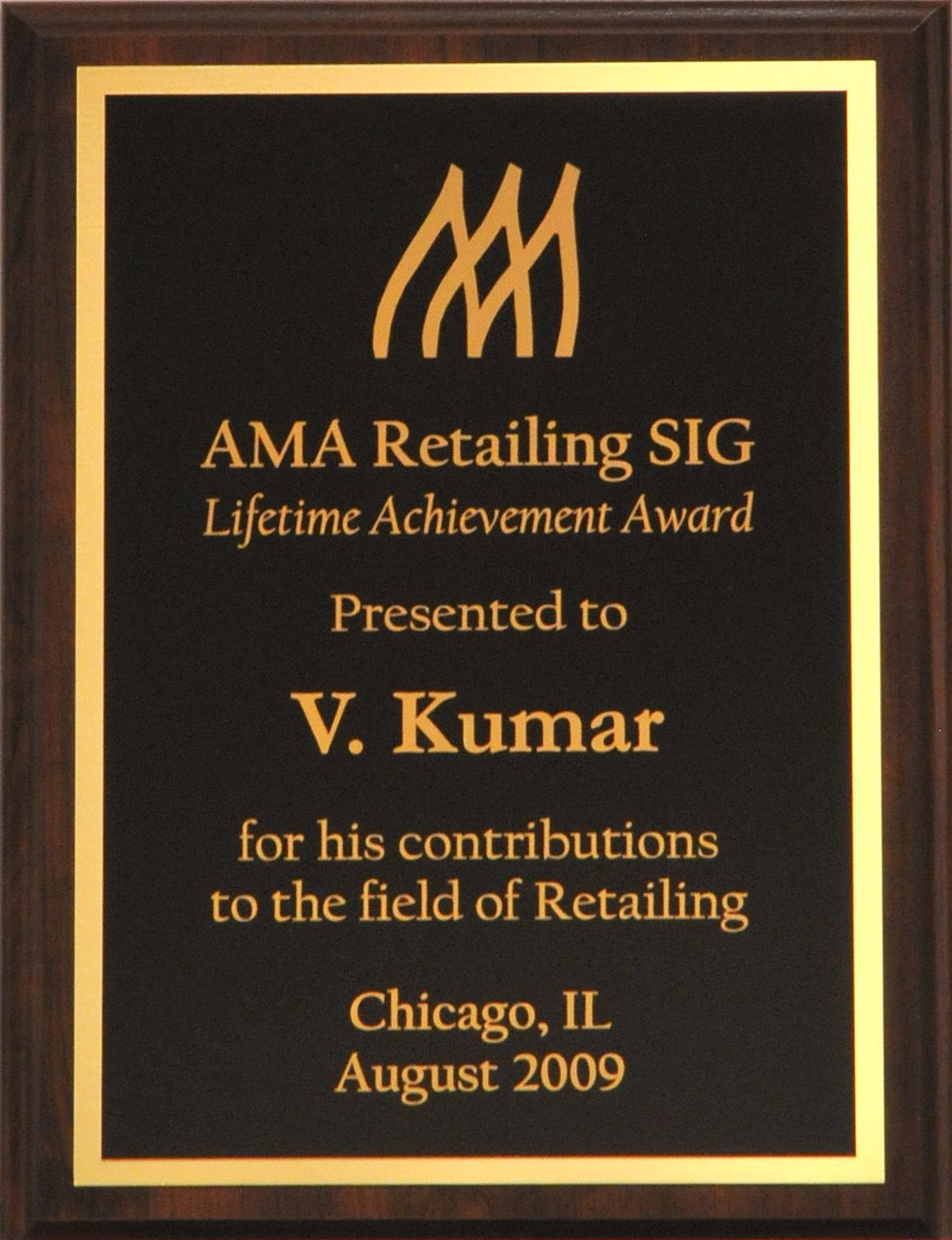 AMA Retailing SIG
